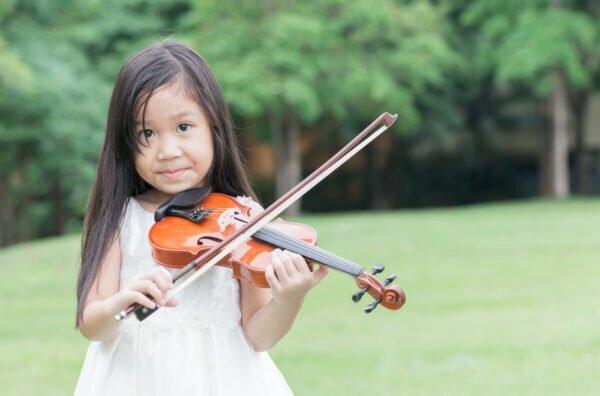 Éveil sonore par le violon